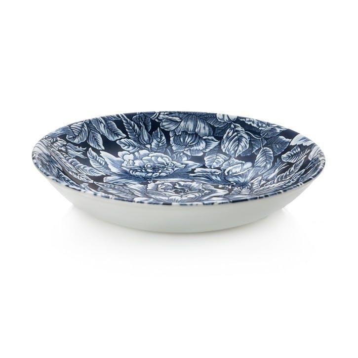 Ink Blue Hibiscus Pasta Bowl