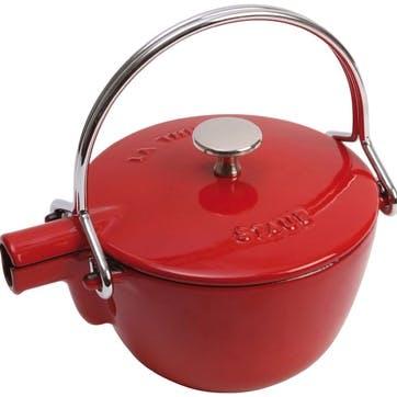 Cast Iron Teapot, Cherry