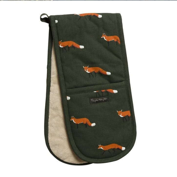 'Foxes' Double Oven Glove