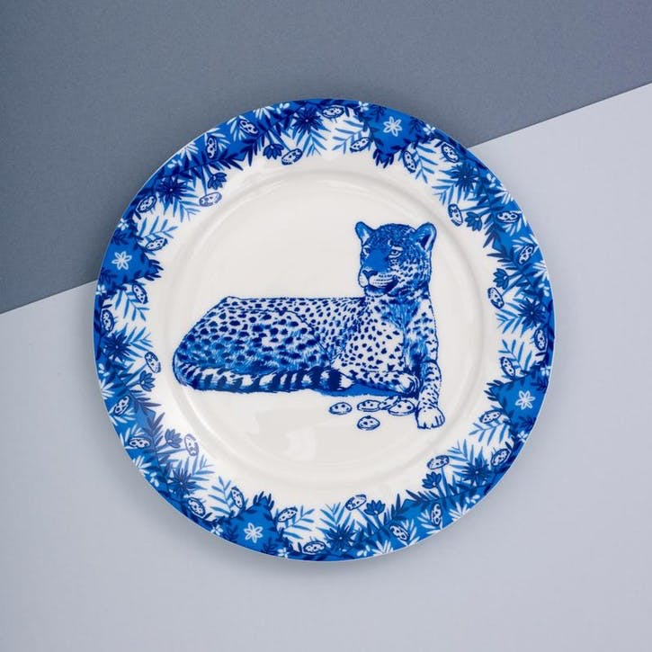 Leopard Willow Side Plate