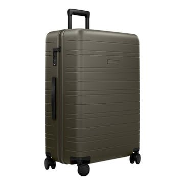 H7, Large Check-In Trolley Suitcase, W52 X H77 X D28cm, Dark Olive