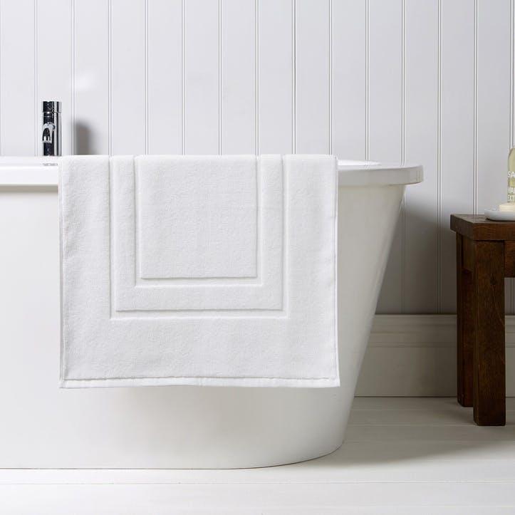 Brixton Shower Mat, White