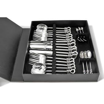 Polished Knot 24 Piece Cutlery Set