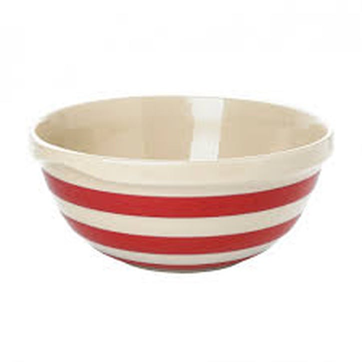Mixing Bowl, 25cm, Red