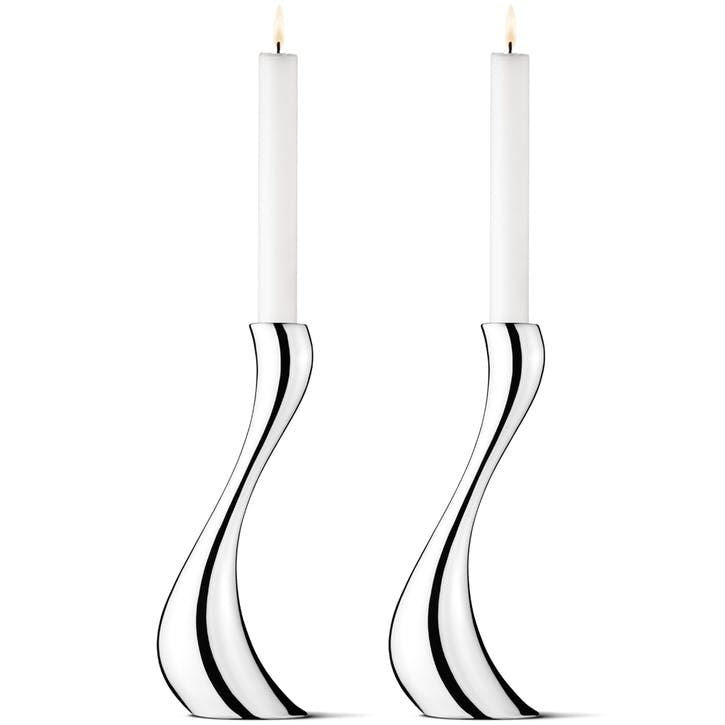 Large Cobra Candle Holders, Set of 2