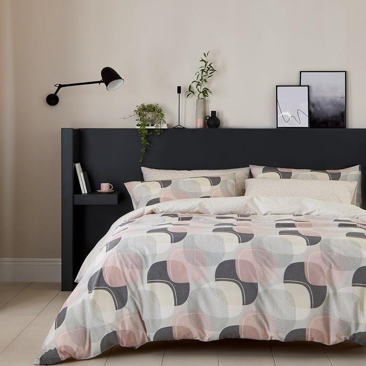 Arken Double Bedding Set, Blush