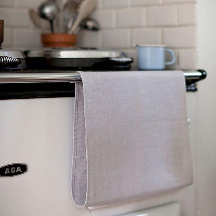 Aga  Roller Towel, Pale Grey