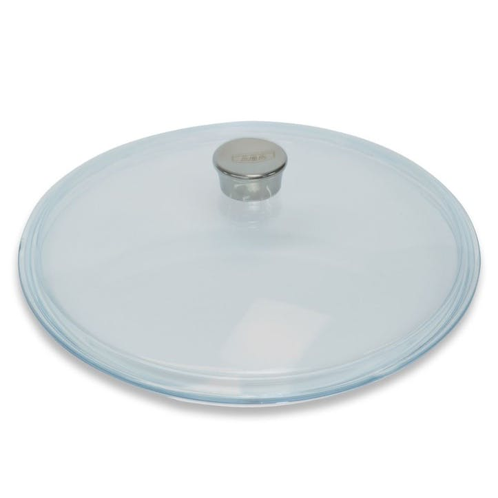 Cast Aluminium 28cm Glass Lid