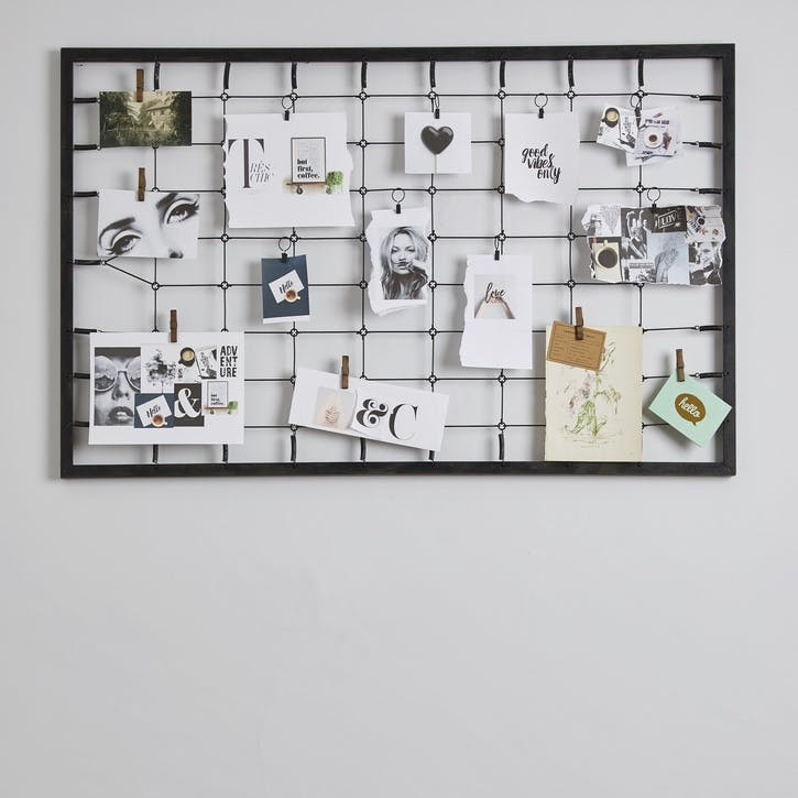 Modern Rustic Bed Springs Memo Board