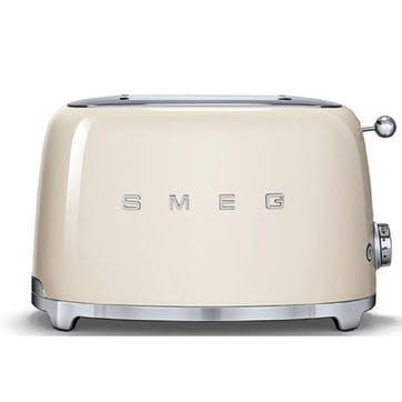 2 Slice Toaster, Cream