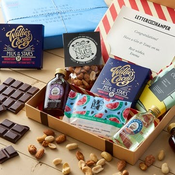 3-Month Letter Box Hamper Subscription: The Boozy One