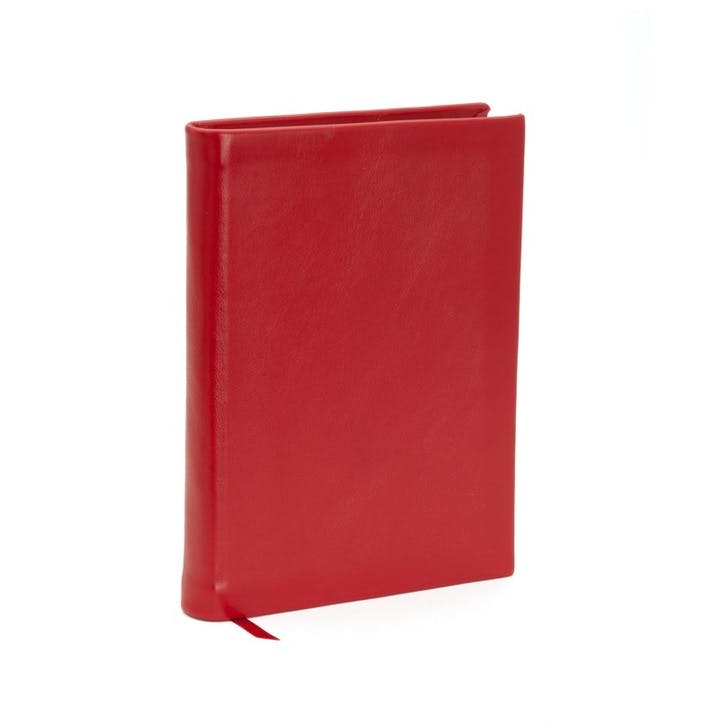 Chelsea Leather Small Plain Journal, Poppy