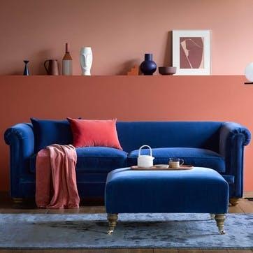 Patrick Unbuttoned, 2 Seater Sofa, Bahama