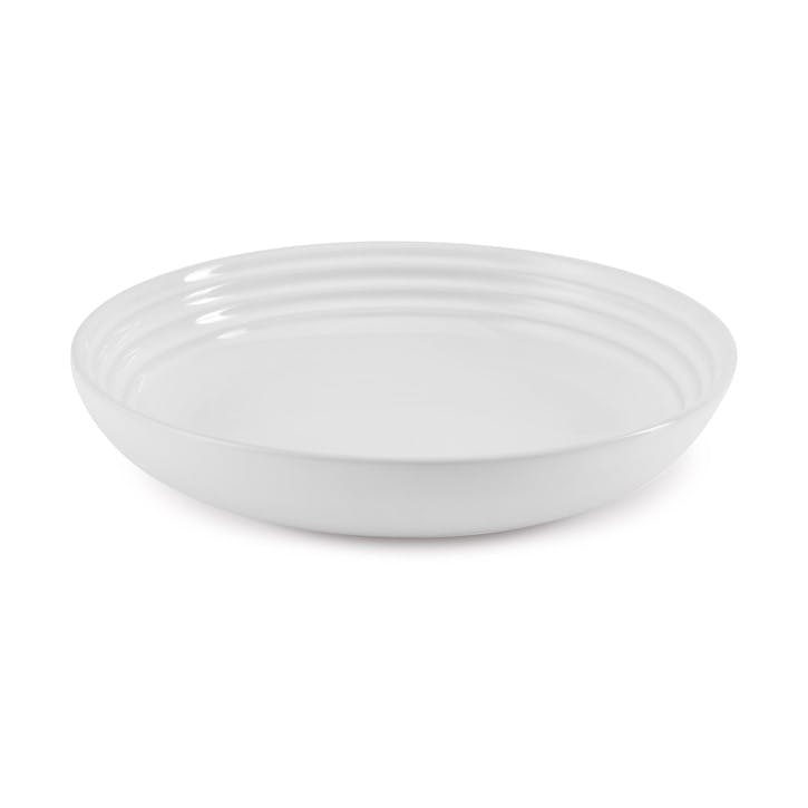 Pasta Bowl - 22cm; White
