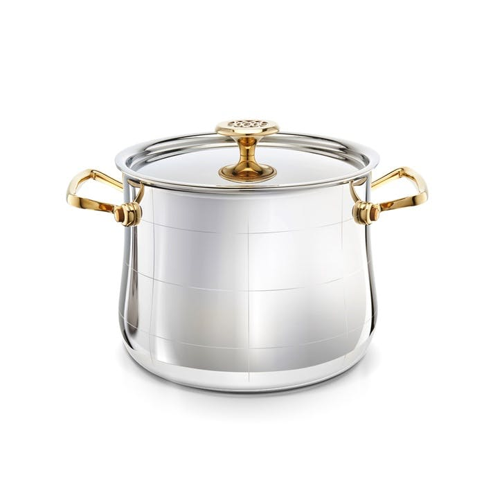 Platine Stock Pot With Lid