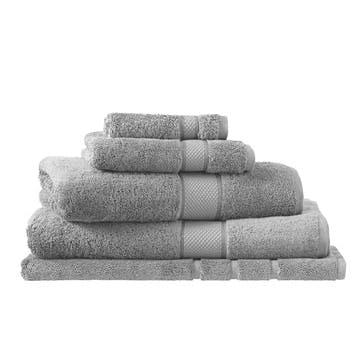Luxury Egyptian Cloud Grey Bath Mat