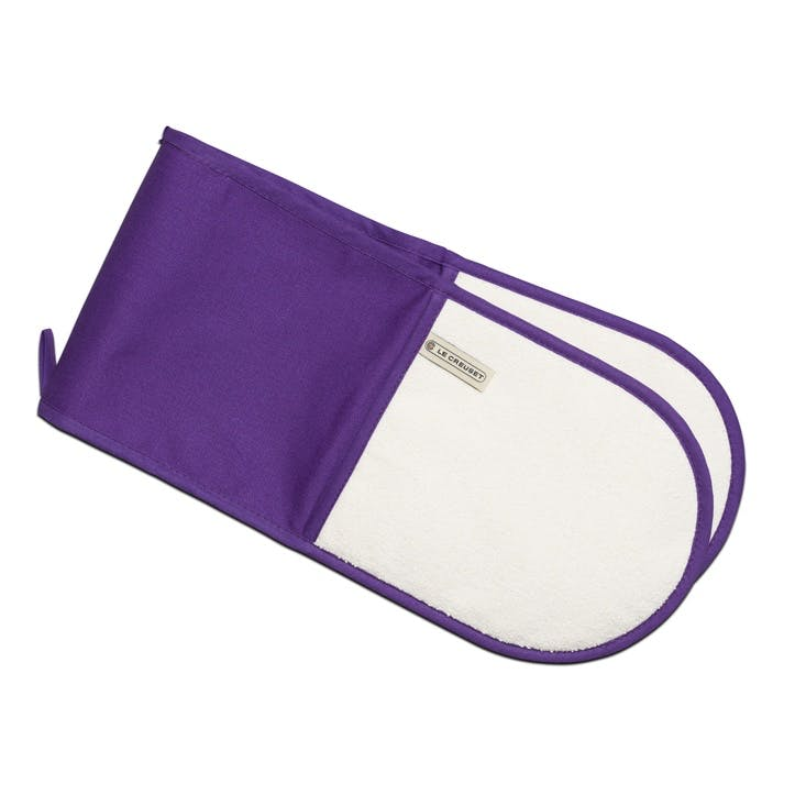 Double Oven Glove; Ultra Violet