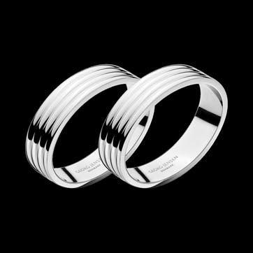 Bernadotte Napkin Rings, Set of 2