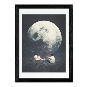 Frank Moth, My Love Framed Art Print