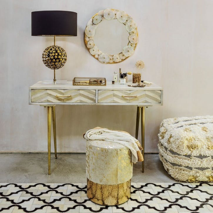 Ariella Chevron Desk