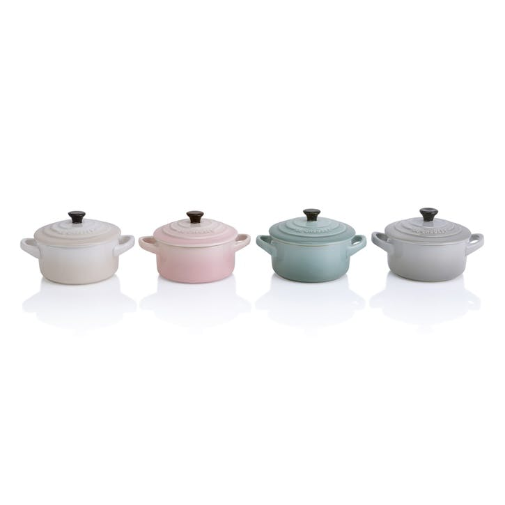 Calm Collection Petite Round Casseroles, Set of Four