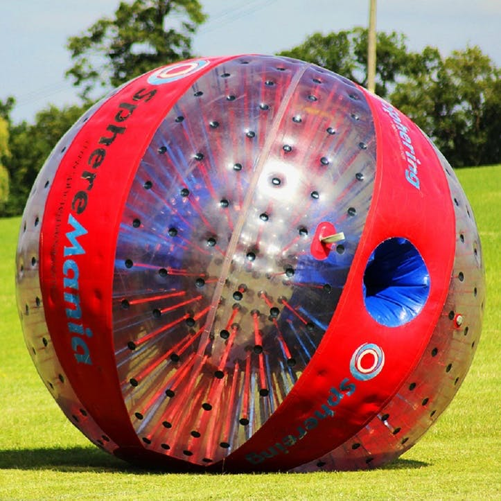 Harness Zorbing for Two