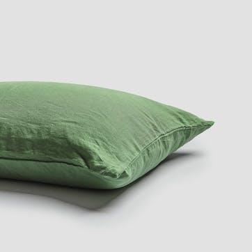 Super King Pillowcase Pair, Forest Green