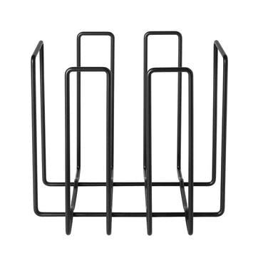 Magazine Rack, Black