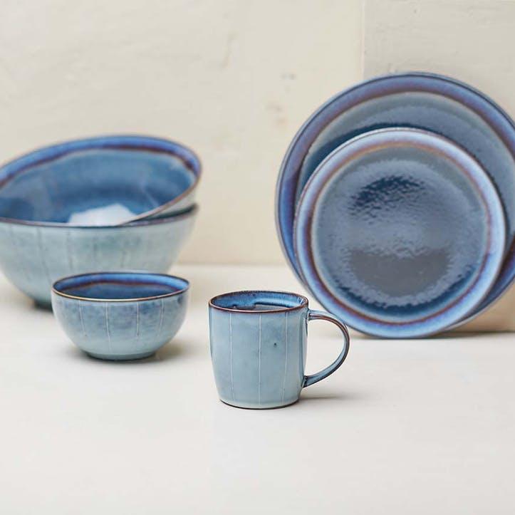 Dakara Handled Mug; Navy