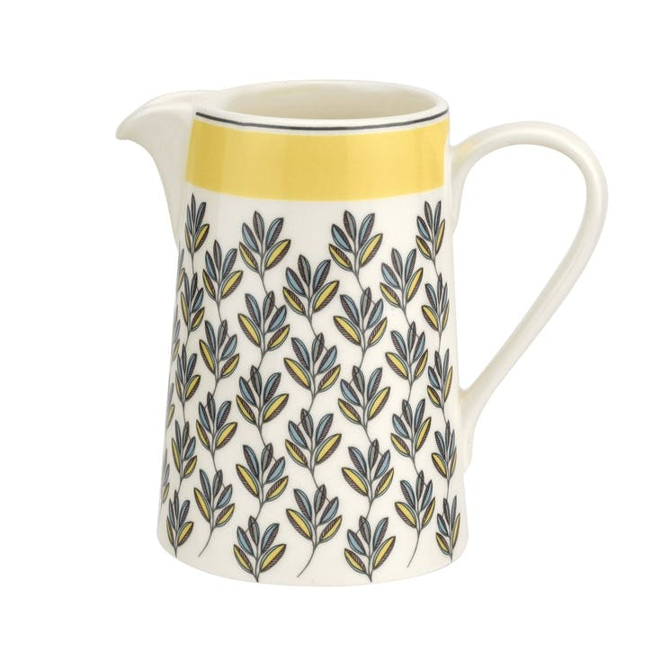 Westerly Cream Jug - 10oz; Yellow Band