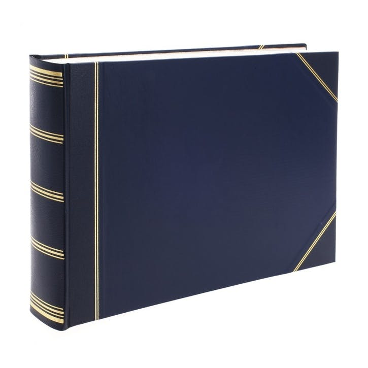 Standard Landscape Card Photo Album, Blue