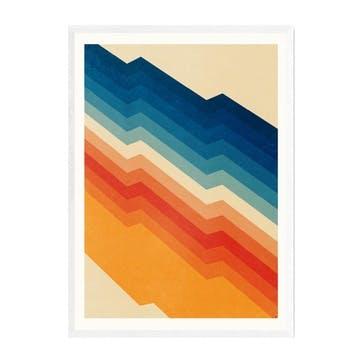 Tracie Andrews, Barricade Framed Art Print