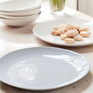 Arbor Grey Large Serving Platter
