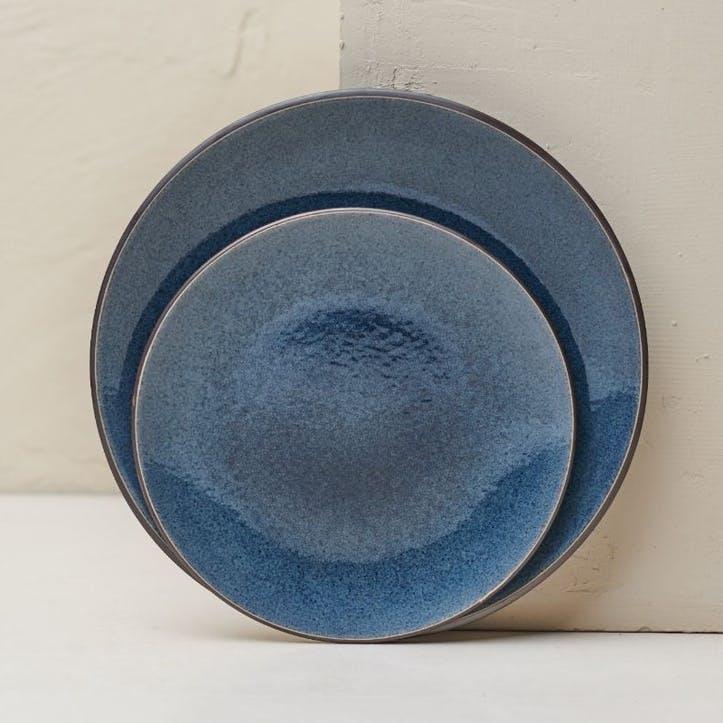 Bao Dinner Plate; Navy