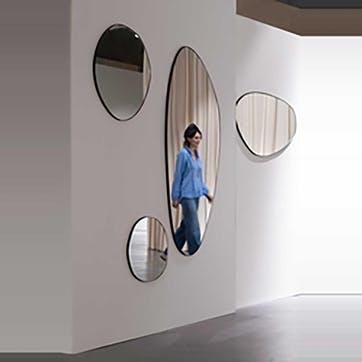 Discus, Mirror, Black