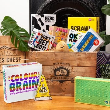 Personalised Games Chest, with 10 Games