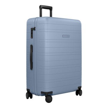 H7, Large Check-In Trolley Suitcase, W52 X H77 X D28cm, Blue Vega