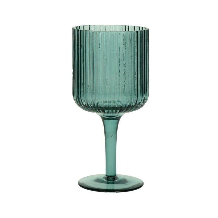 Nyrad White Wine Glass, Set of 6, Blue