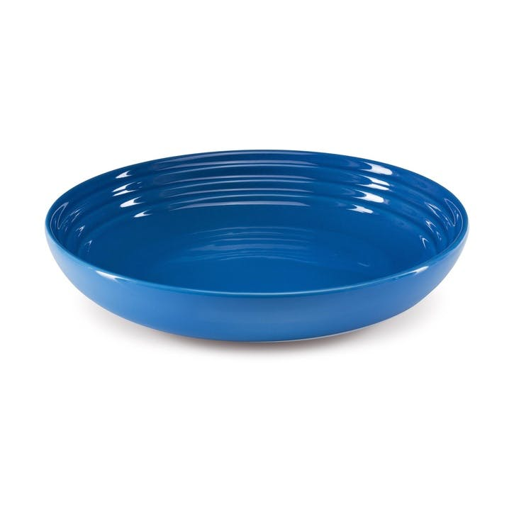 Set of 4 Pasta Bowls - 22cm; Marseille Blue