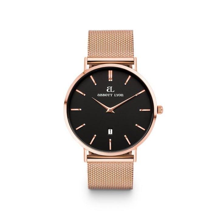 Kensington Chain 40 Watch, Rose Gold