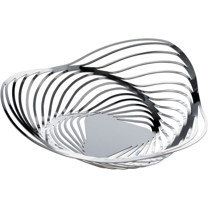 Trinity Basket; Stainless Steel