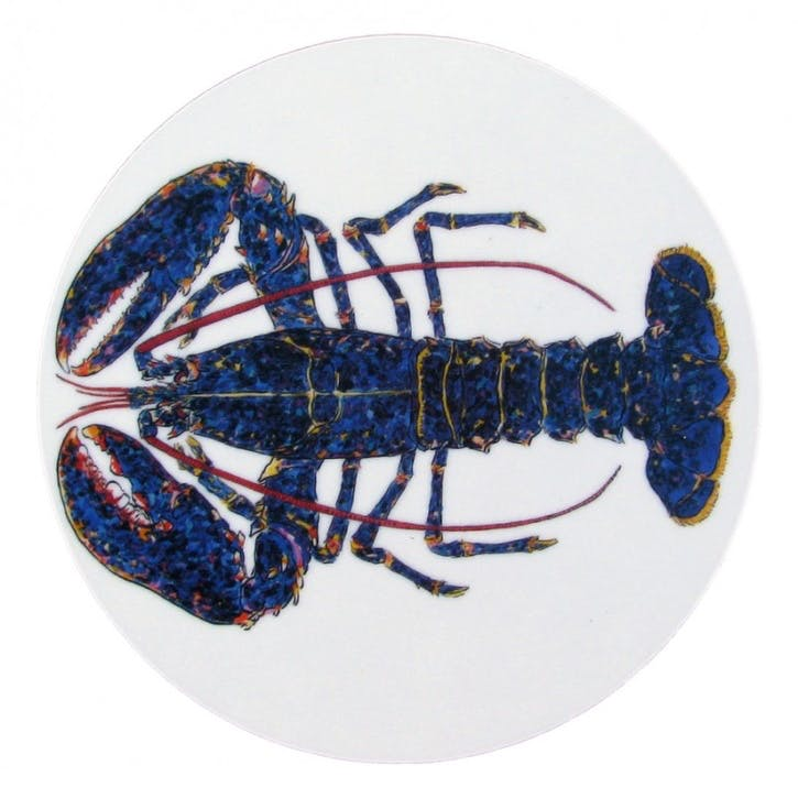 Blue Lobster Coaster - 10cm