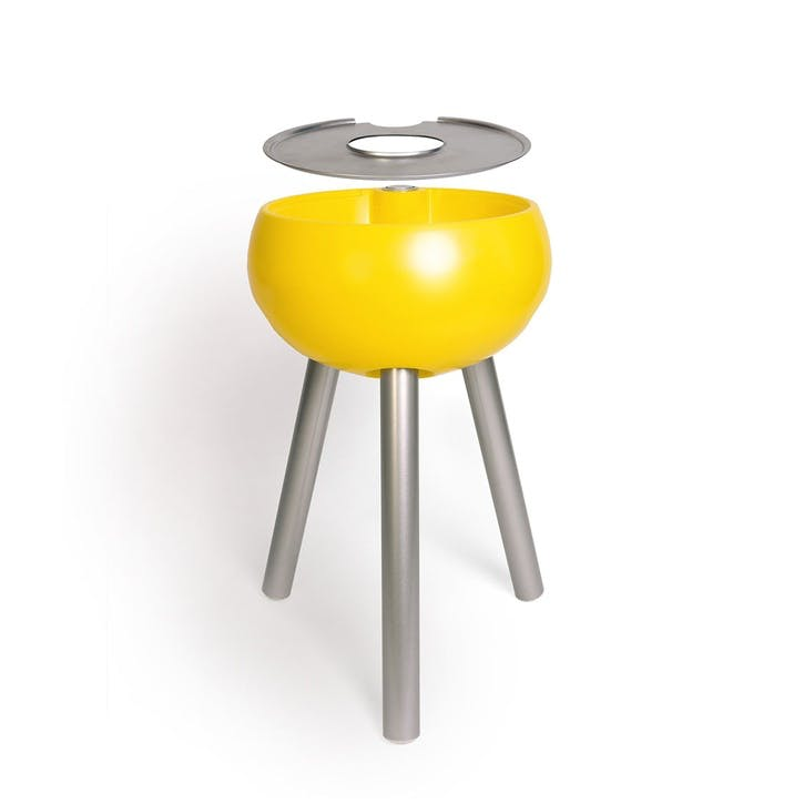 Homebird Champagne Cooler Table, Egg Yolk