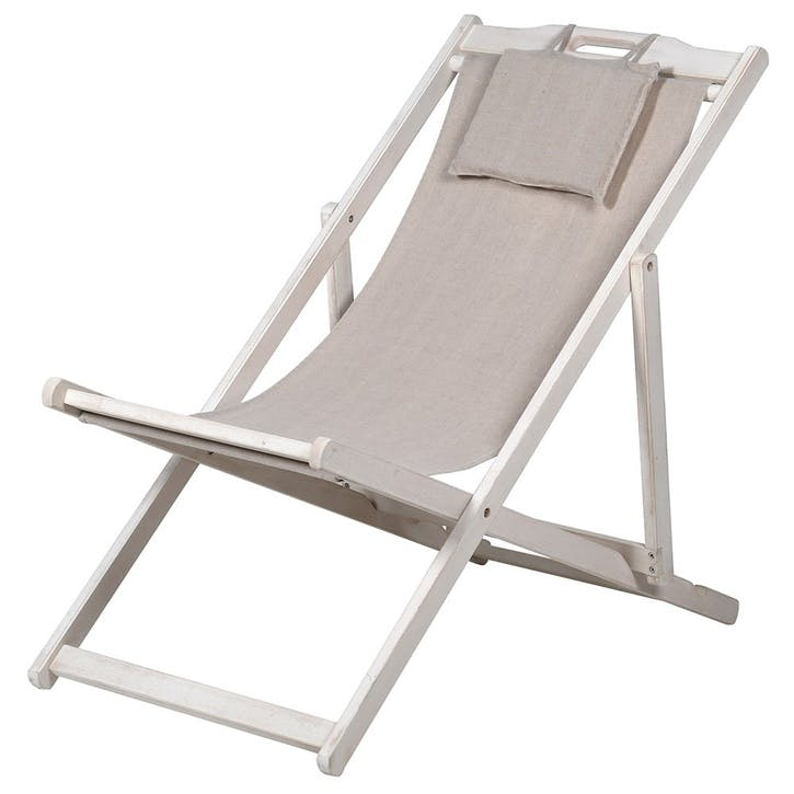 Classic Linen Deck Chair
