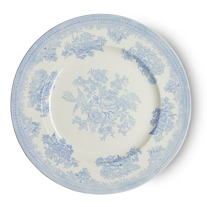 Asiatic Pheasants Plate, 29cm, Blue