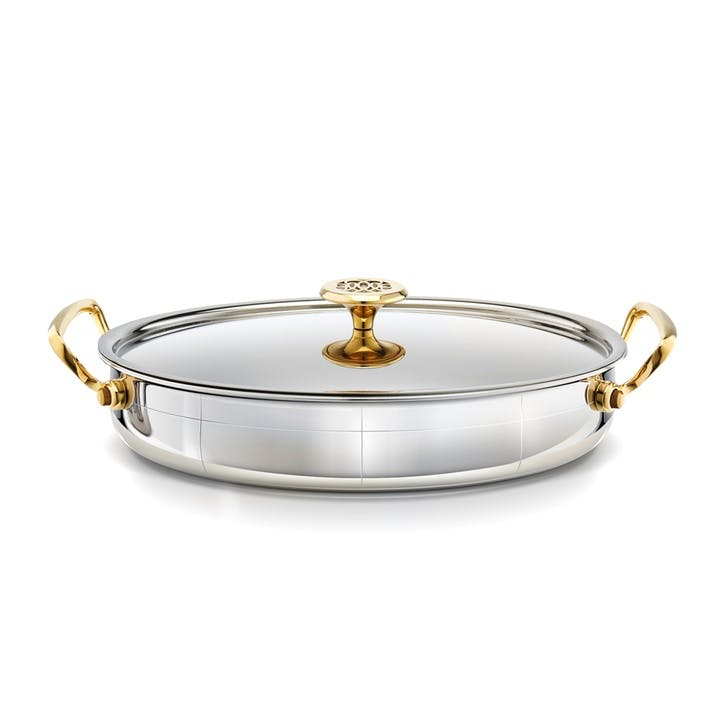 Platine Oval Roasting Pan With Lid