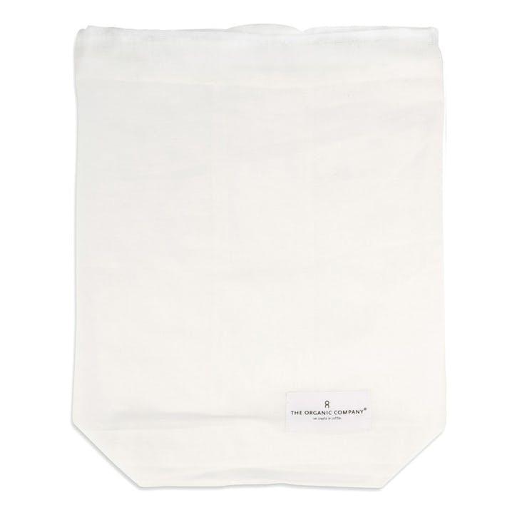 Food Bag, Medium, Natural White