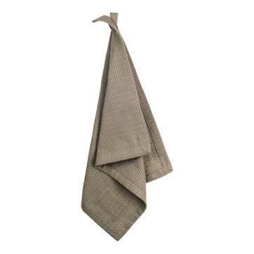 Pique Weave Kitchen Wash Cloth, L35 x W30cm, Clay