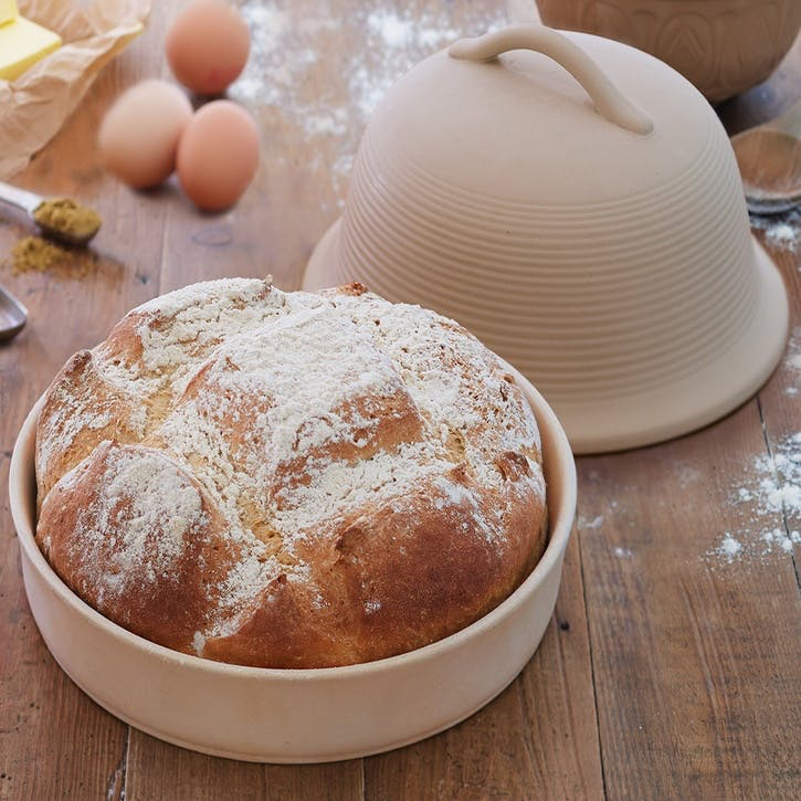 Home Made Round Bread Baking Cloche
