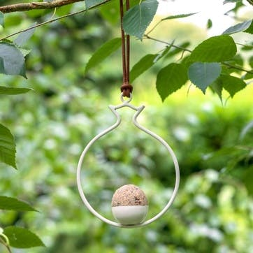 Fat Ball Bird Feeder, Pomegranate